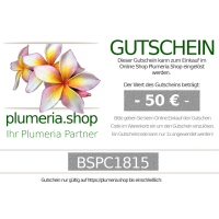 Plumeria.Shop Gutscheine